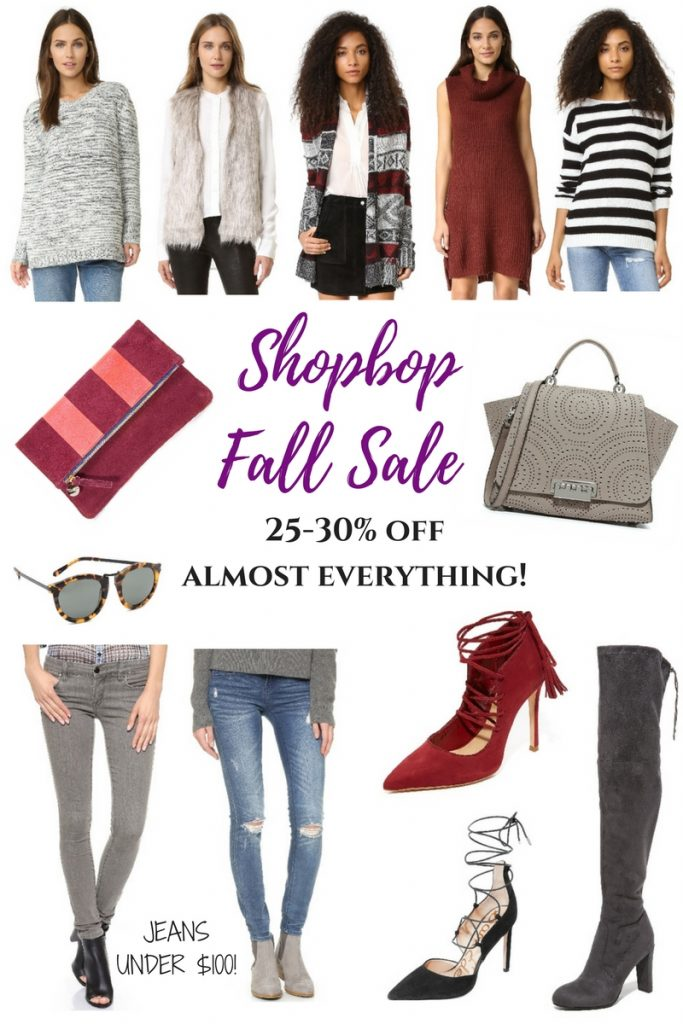 Best of the shopbop sale 2016 including many items under $100