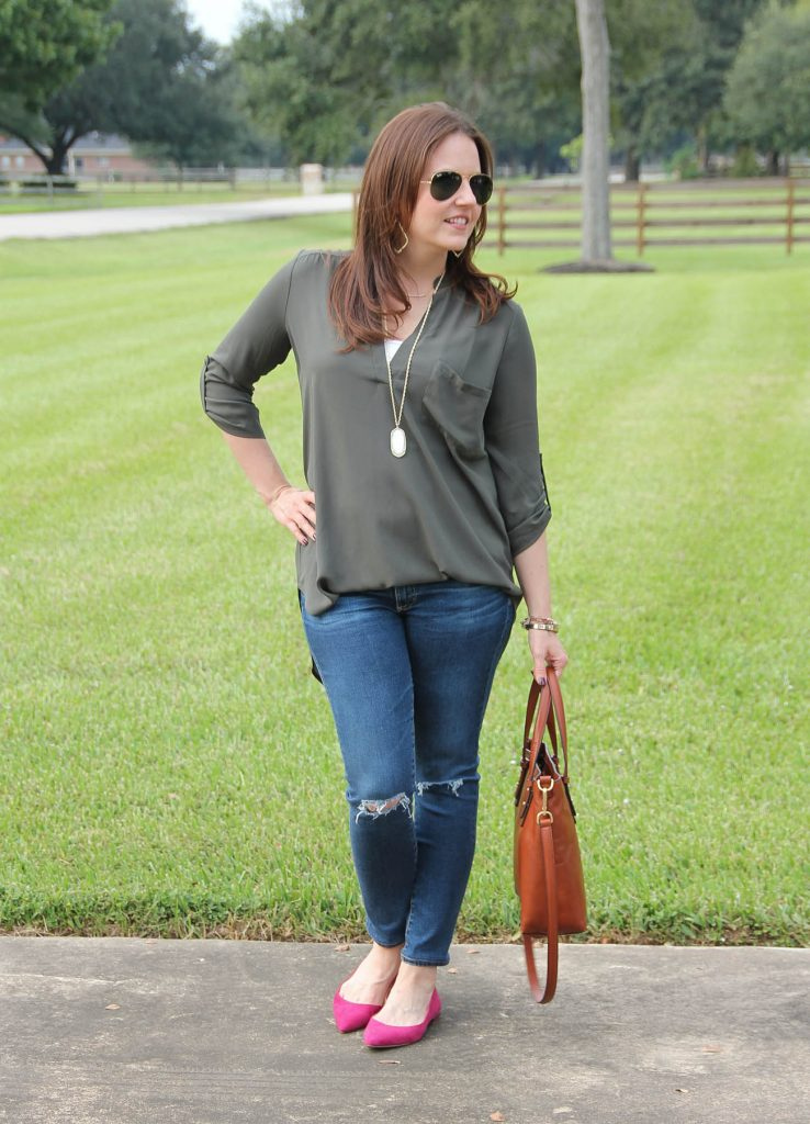 Houston fashion blogger shares weekend outfit inspiration.