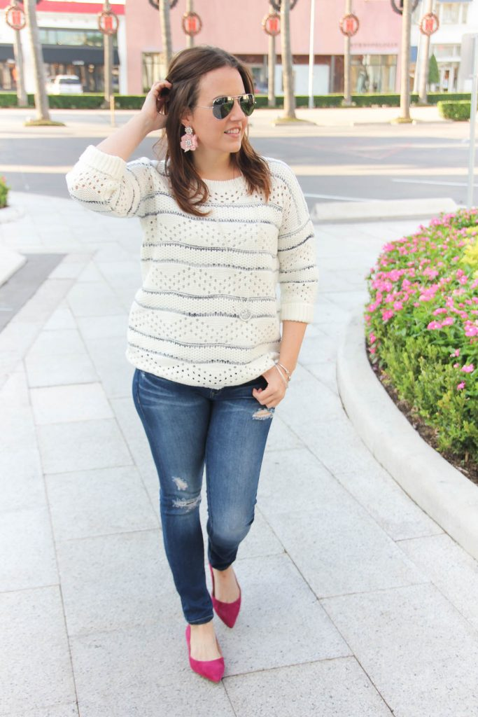 Houston fashion blogger shares casual weekend outfit ideas for the holidays.