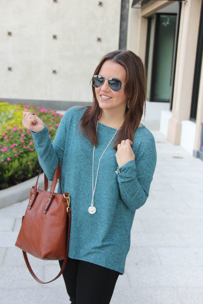 LadyinViolet on why the gibson fleece sweater is THE perfect fall sweater!