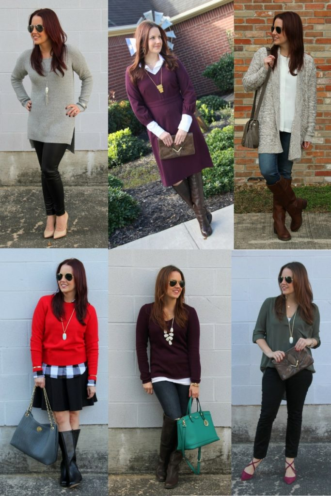 Houston Fashion Blogger shares 6 fall outfit ideas.
