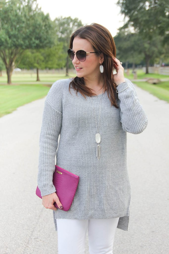 Houston Fashion Blogger shares tips on wearing white jeans after Labor day.