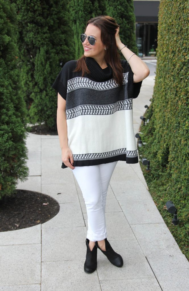 weekend outfit idea for fall with black ankle boots