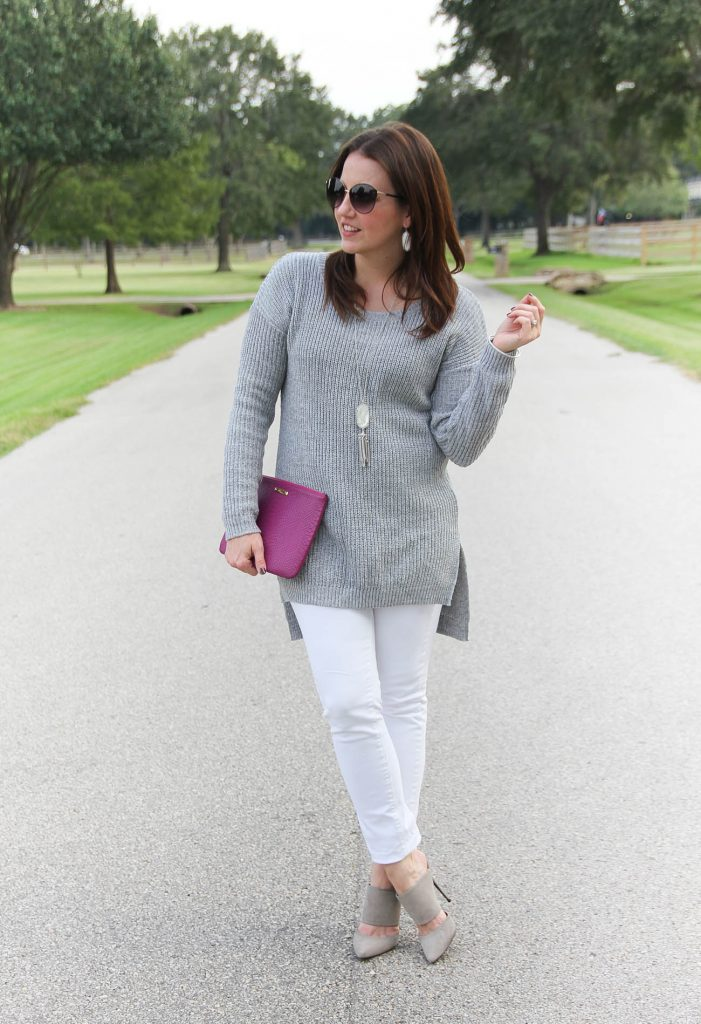 Houston Fashion Blogger, Lady in Violet shares casual weekend outfits for fall and winter season.