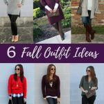 6 Fall Outfit Ideas