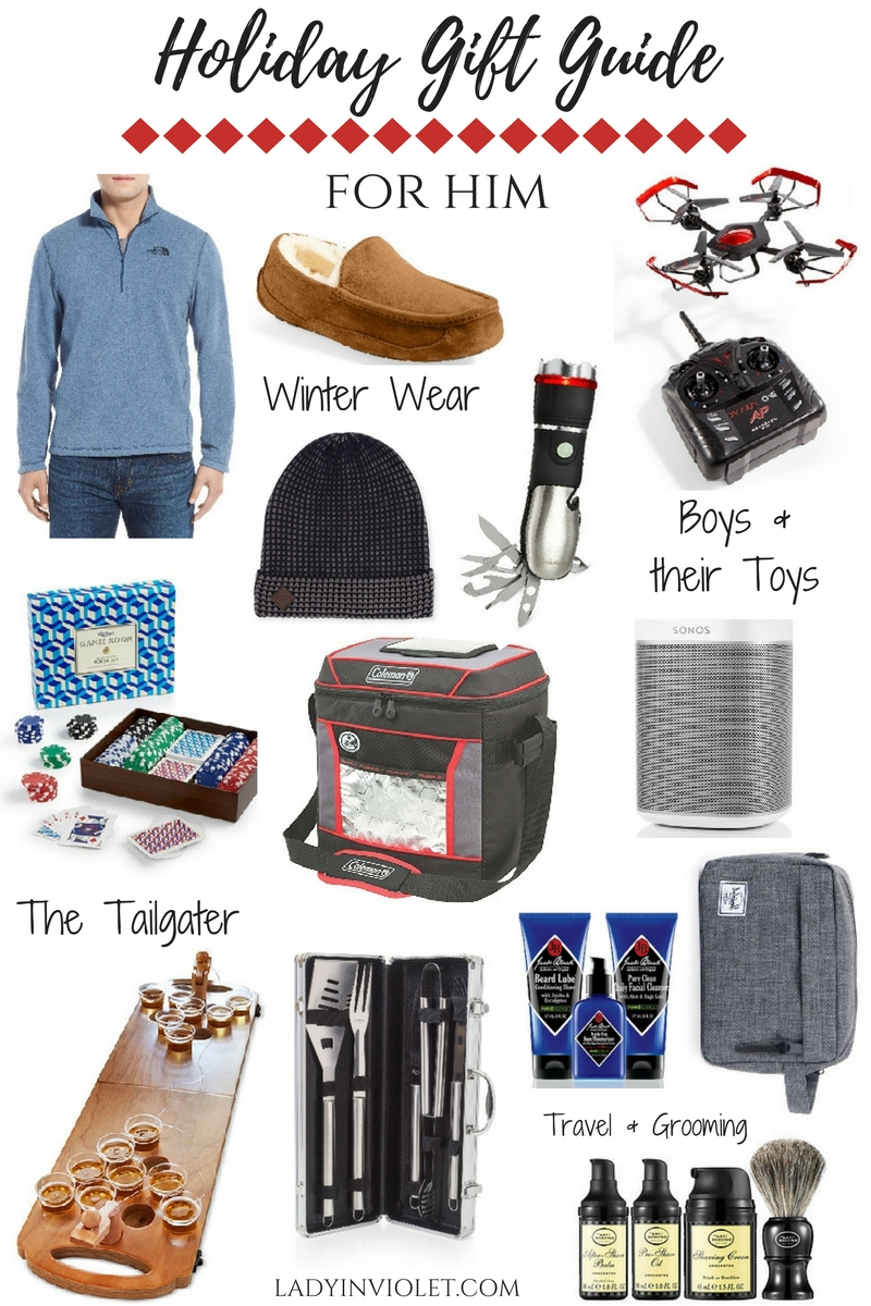 Holiday Gift Guide: Best Gift Ideas for Men | Lady in ...