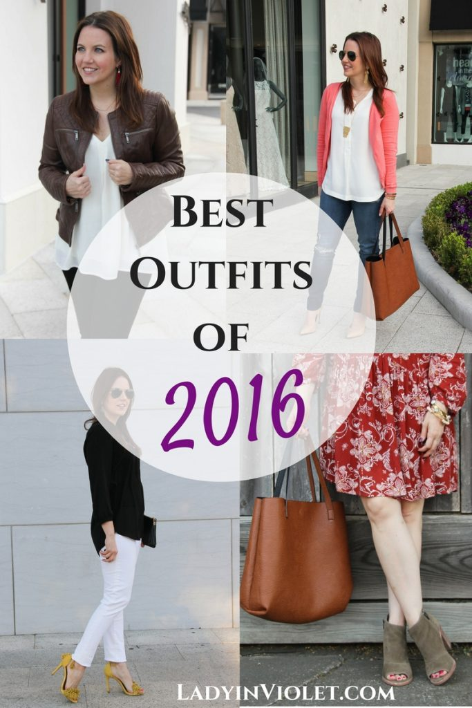 Best Outfits of 2016 from Houston Fashion Blogger Lady in Violet
