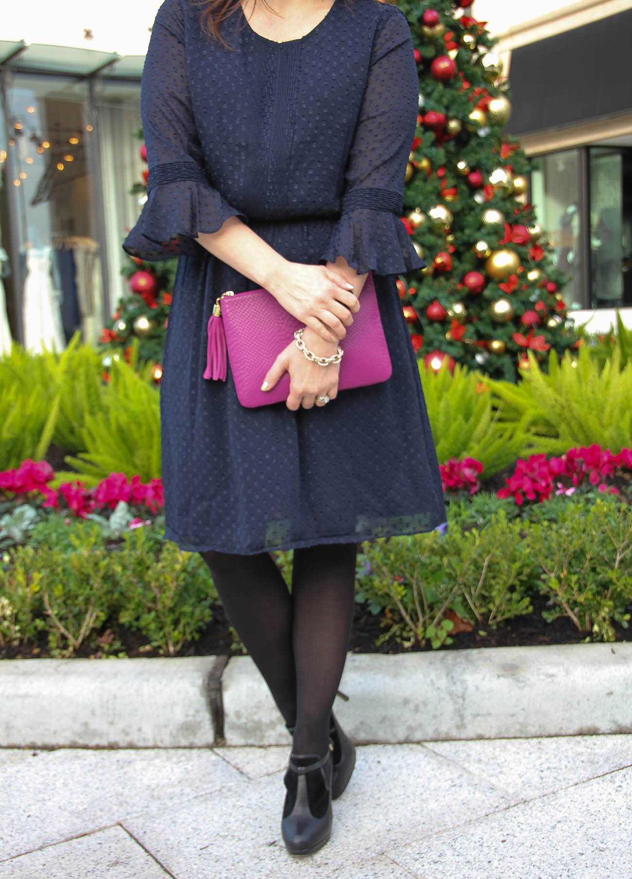 Christmas Morning Dress Lady In Violetlady In Violet