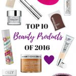 My Top Ten Beauty Products of 2016