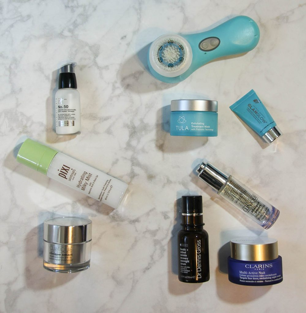 Houston Blogger Lady in Violet reveals her skincare routine for the morning and at night.