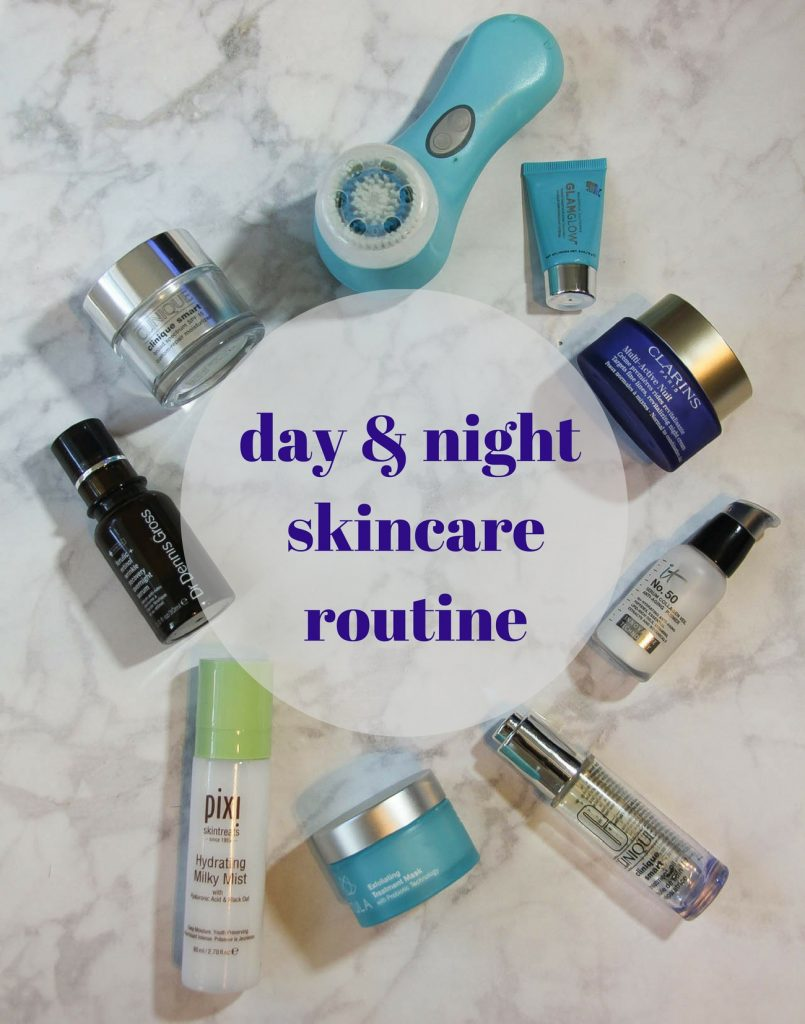 The best day and night winter skincare routine to survive cold weather dry skin.