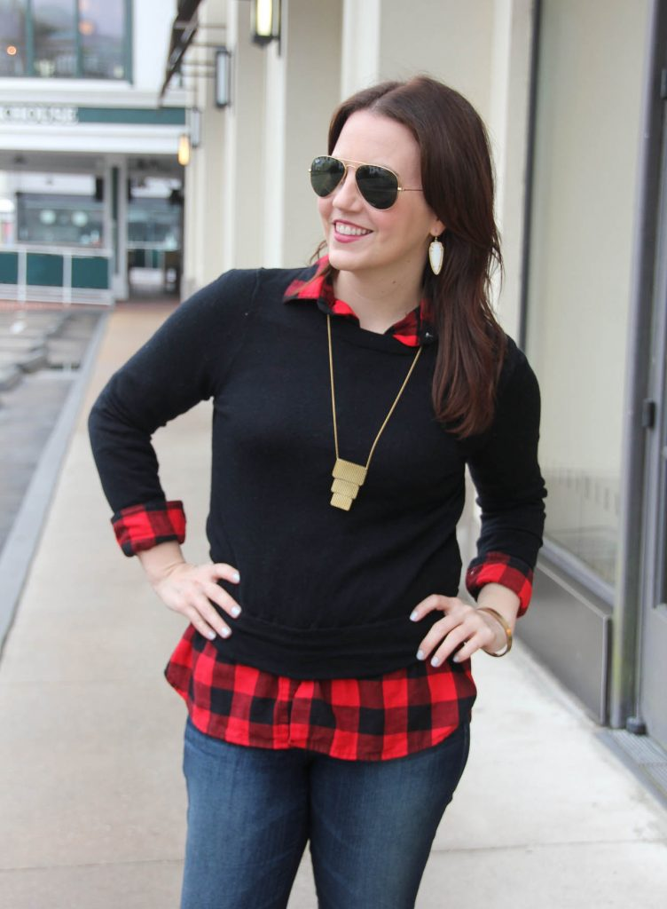 Houston Style Blogger shares how to create a layered outfit for winter weather. Ciick through for outfit details.