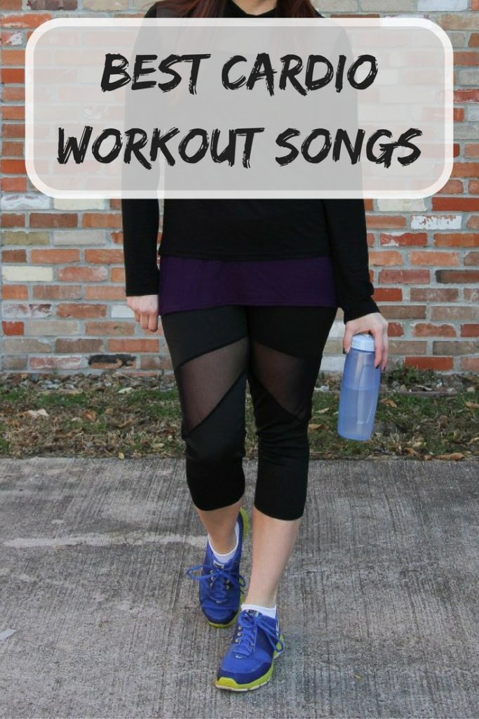 Houston Blogger shares the best cardio workout songs for treadmill, elliptical, walking, and running.