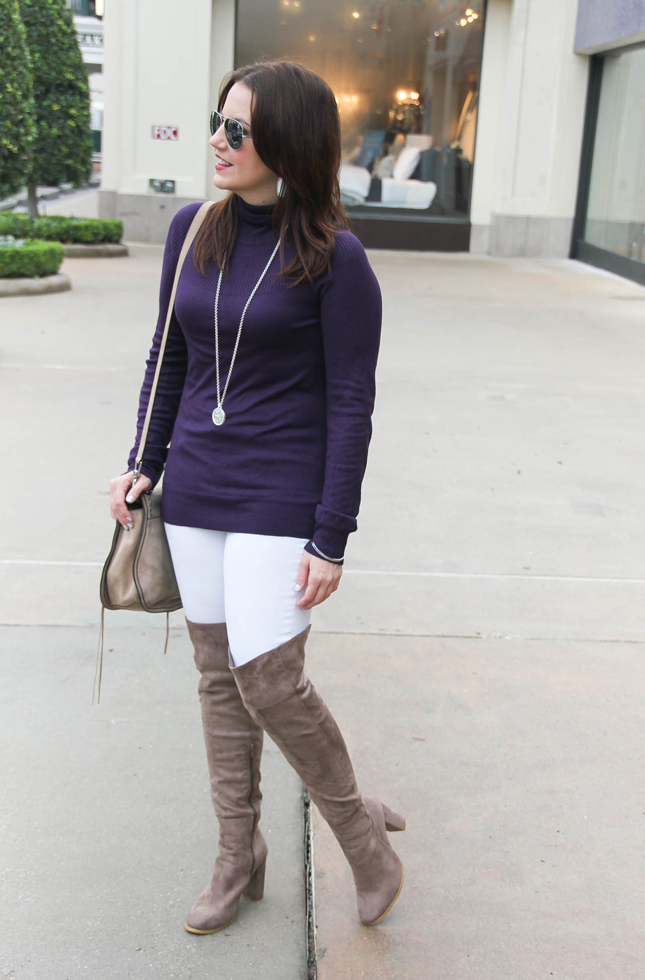 How to Wear Over the Knee Boots When You're Short