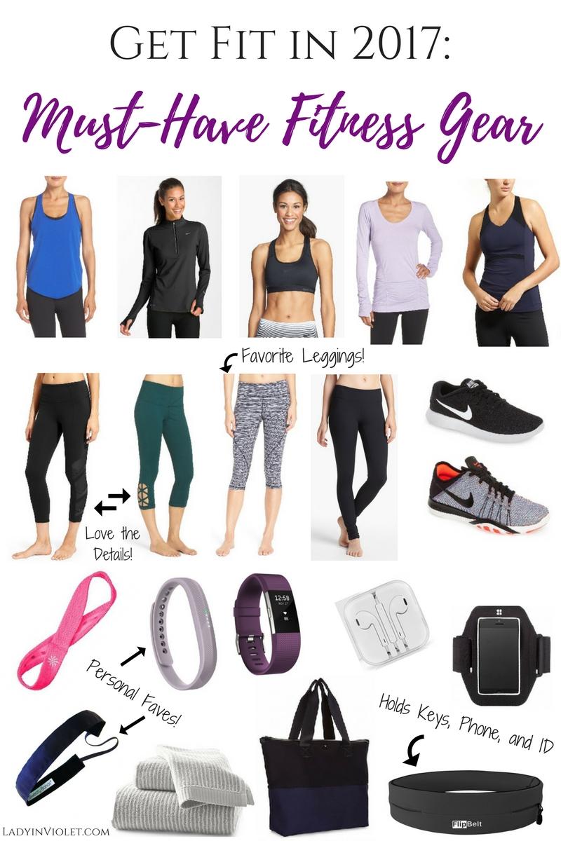 get fit in 2017 must have fitness gear lady in violetlady in violet. Black Bedroom Furniture Sets. Home Design Ideas