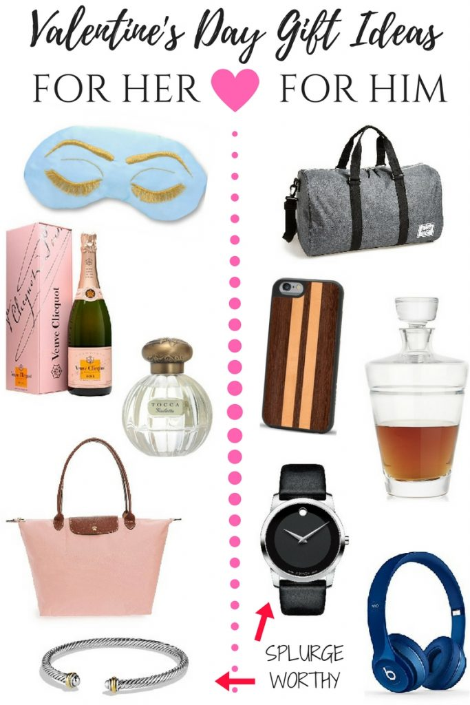Houston Blogger Lady in Violet shares Valentine's Day gift ideas for her and him.