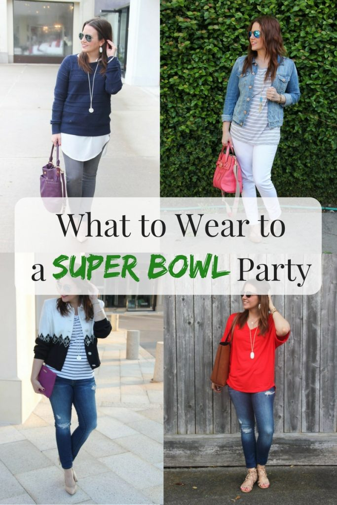 Lady in Violet, a Houston Fashion Blogger shares 16 Super Bowl Party Outfit Idea to wear on Sunday.