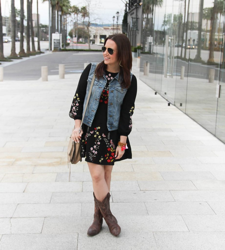 Lady in Violet, a Houston Fashion Blogger shares what to wear to the Houston Rodeo cookoff.