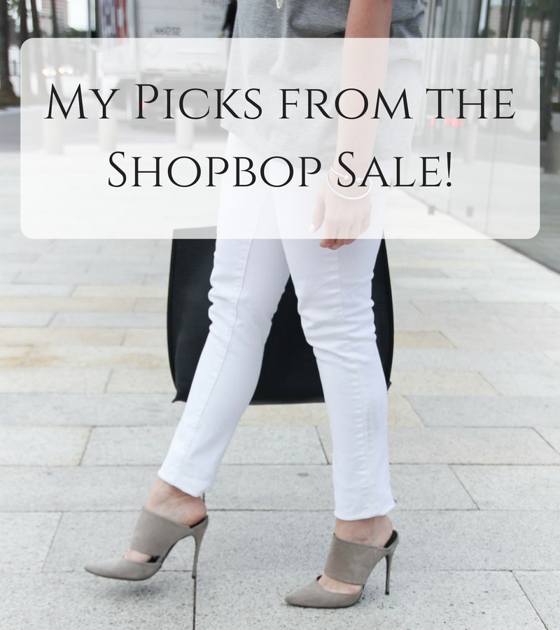 Lady in Violet, a Houston based Fashion Blogger shares her top picks from the Shopbop sale including Tory Burch, Rebecca Minkoff, and Schutz.