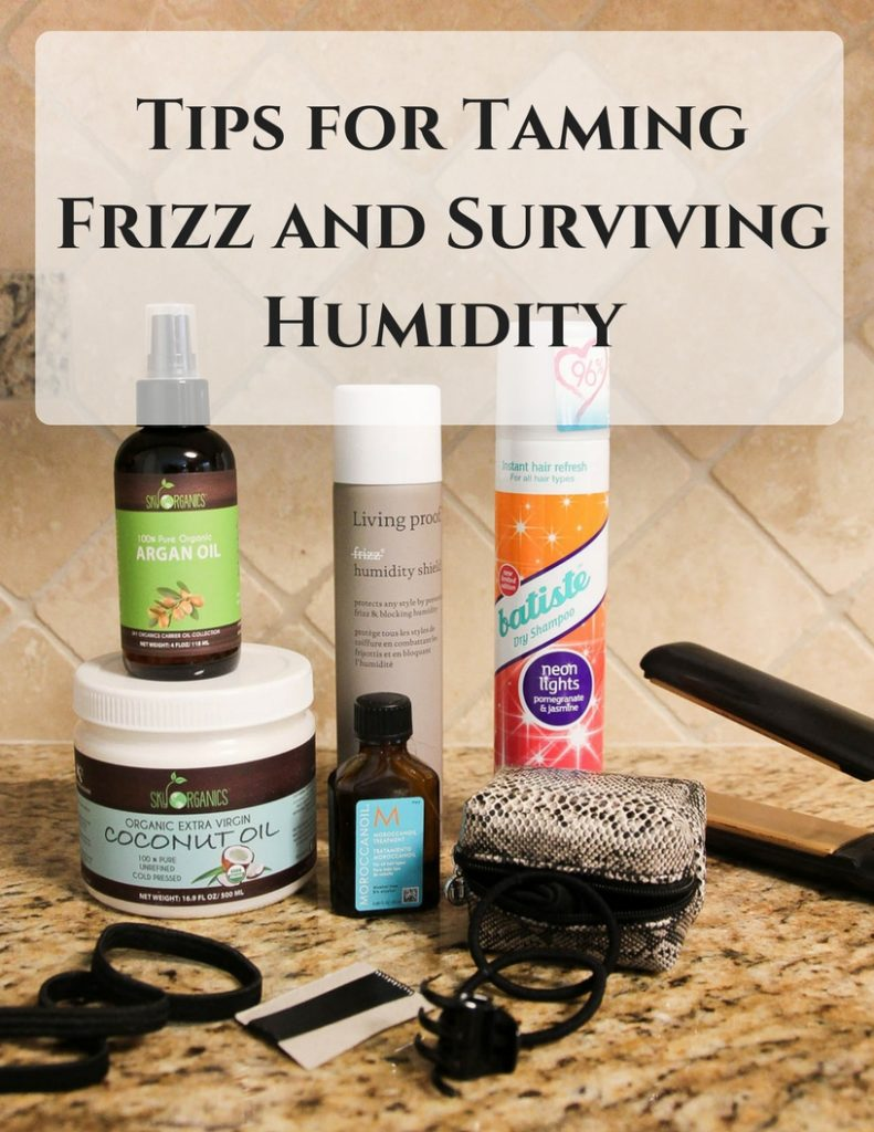 Houston blogger shares her hair care tips for taming frizz and surviving humidity.