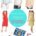 The Must Have Items of Spring