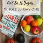 And So It Begins: Whole30 Day 1