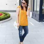 Weekend Casual Outfit in Yellow