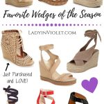 Favorite Wedges for Spring & Summer