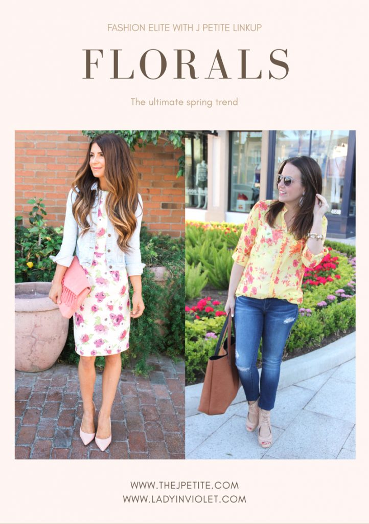 Fashion Bloggers | Spring Trends | Floral Outfits | Spring Outfits | Lady in Violet