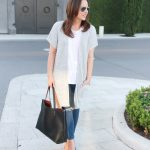 Gray Short Sleeve Cardigan & Link Up