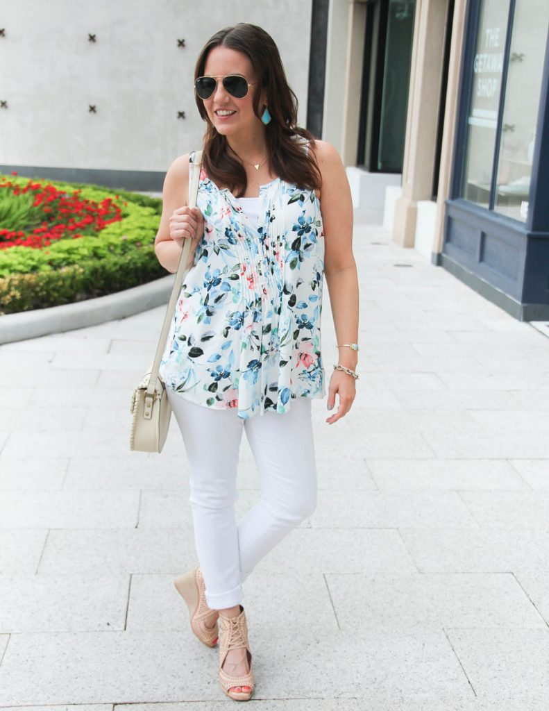 Summer Outfit | Alternative to a white on white outfit | Stitchfix outfit idea | Lady in Violet | Houston Style Blogger
