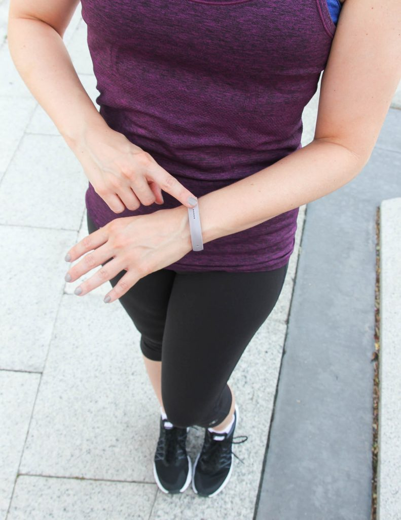 Fitbit Flex 2 review | Gym Outfit | Workout Motivation | Lady in Violet | Houston Style Blogger