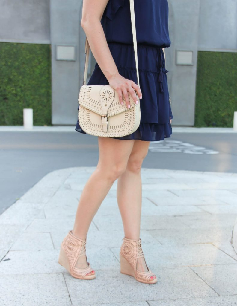 Summer Outfit | Jeffrey Campbell Wedges | Sole Society Kianna Bag | Lady in Violet | Houston Style Blogger