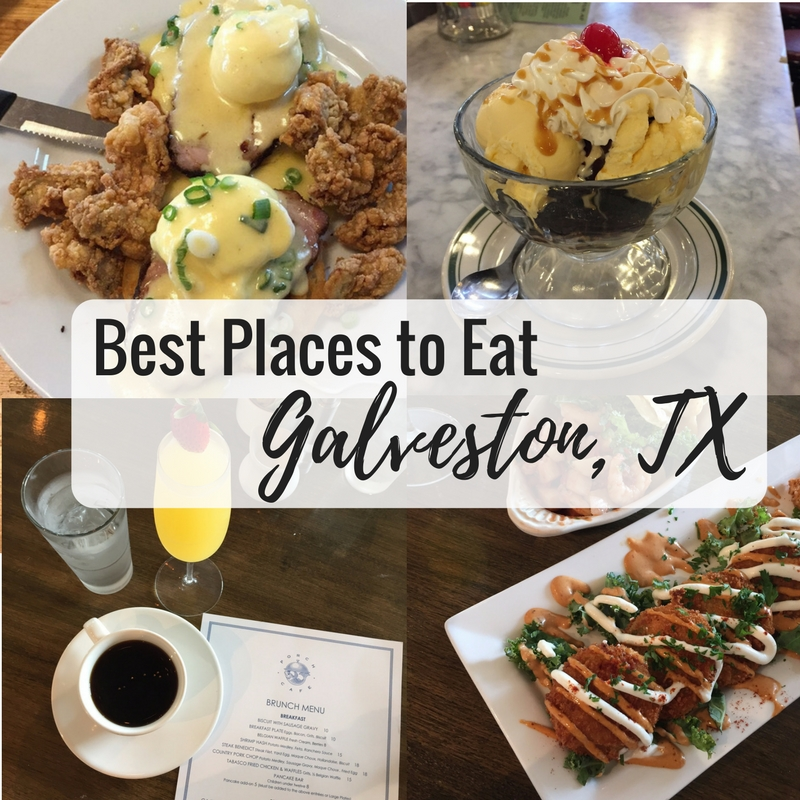 Best Places to Eat in Galveston, TX | Lady in Violet | Houston Blogger