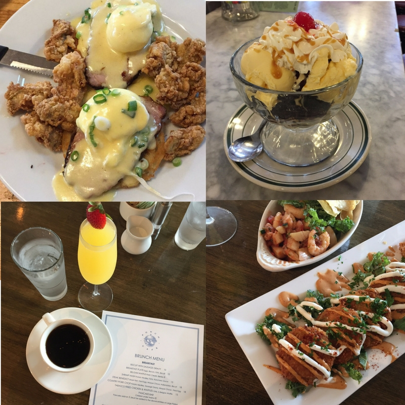 Best Restaurants in Galveston Texas for Brunch | Lady in Violet | Houston Blogger