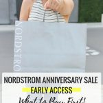Nordstrom Anniversary Sale 2017 Early Access: What to Buy First