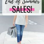 End of Summer Sales!