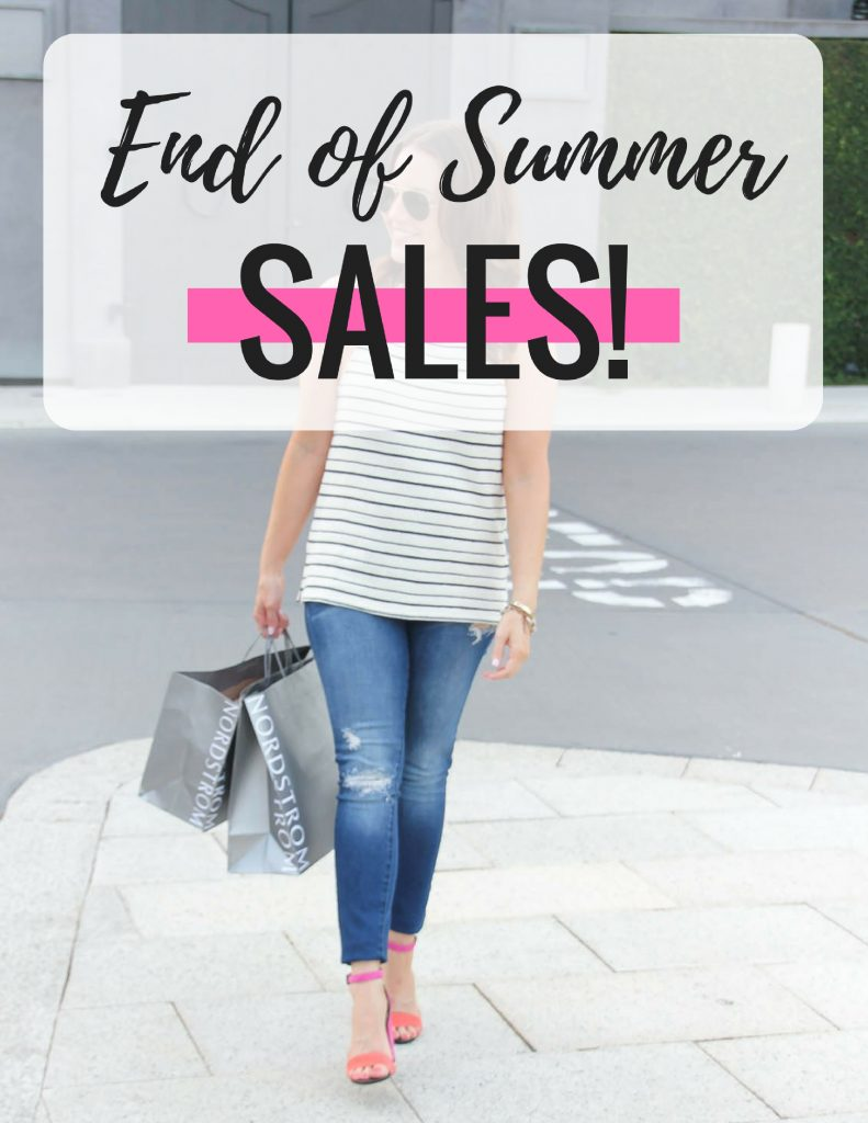 End of Summer Sales | Fashion Discounts | Bargain Shopper | Lady in Violet | Houston Fashion Blogger