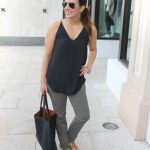 Easy Summer Outfit in Olive Pants