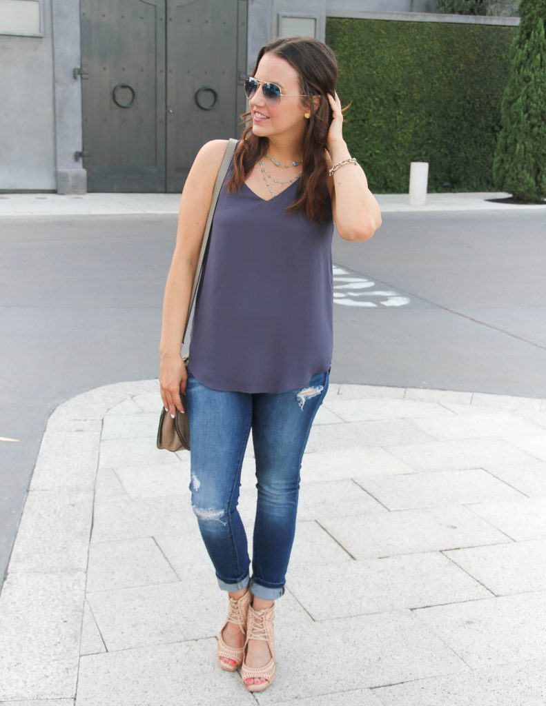 Summer Casual Outfit | Houston Fashion Blogger | Lady in Violet