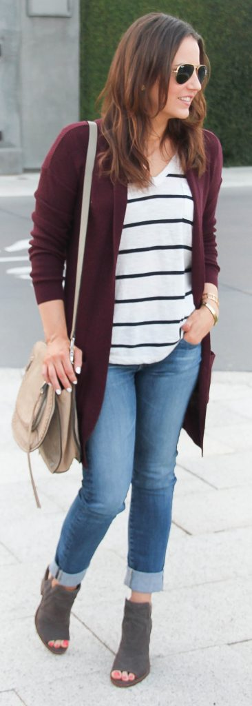 4 Fall basics you need in your closet | Casual Fall Outfit Idea | Lady in Violet Fashion Blog