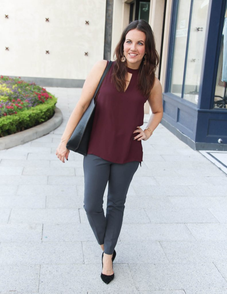 Work Outfit Idea for Fall | Houston Fashion Blogger Lady in Violet