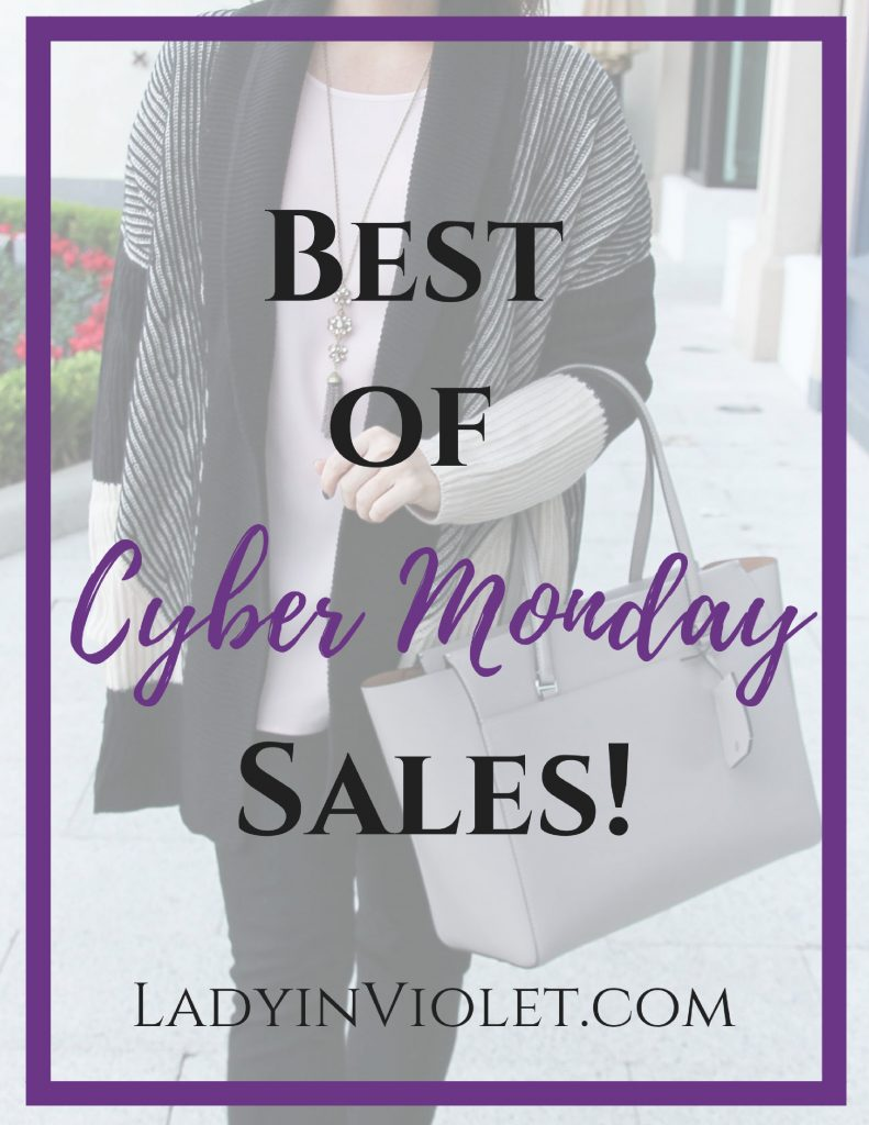 Best Cyber Monday Sales | Houston Fashion Blogger Lady in Violet