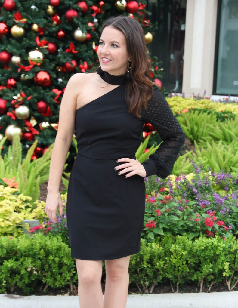 Christmas Party Dress | Holiday Outfit | Houston Fashion Blogger Lady in Violet