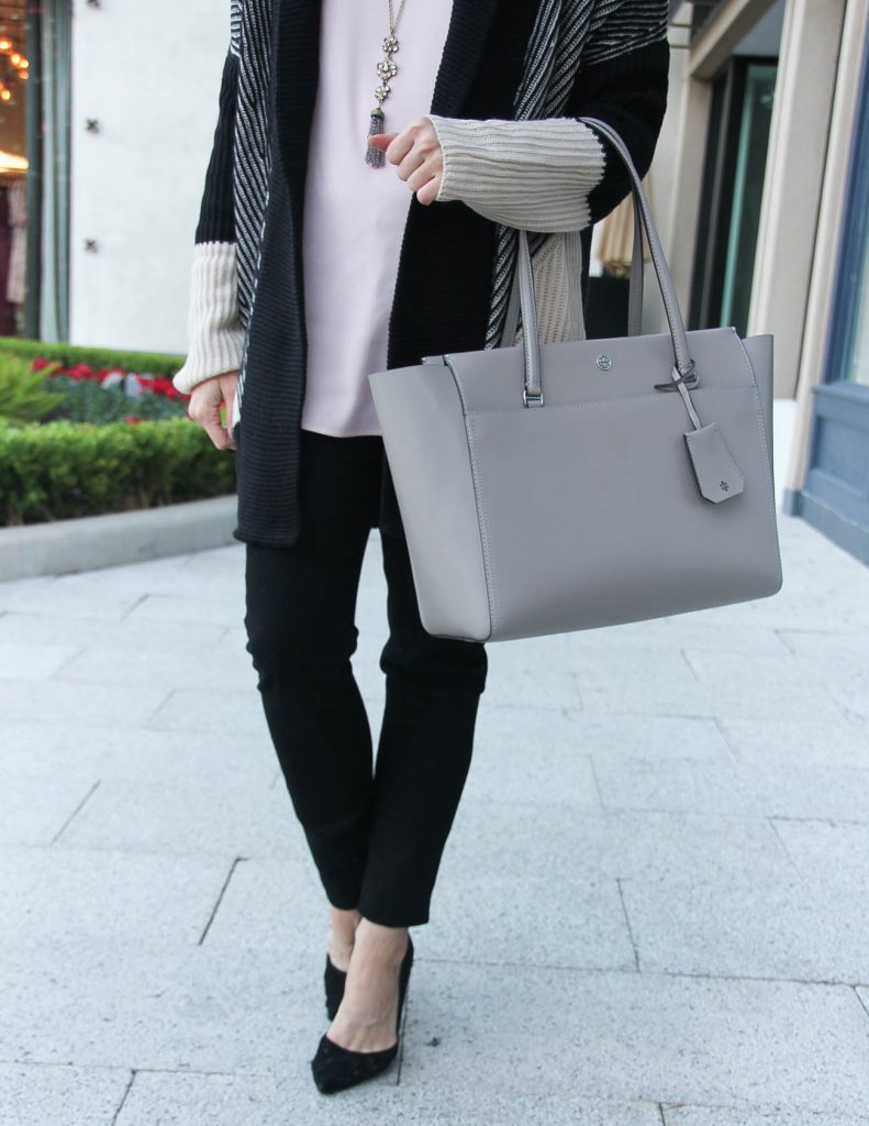Black Friday Sales items featuring Tory Burch tote bag and Black Skinny Jeans | Houston Fashion Blogger Lady in Violet