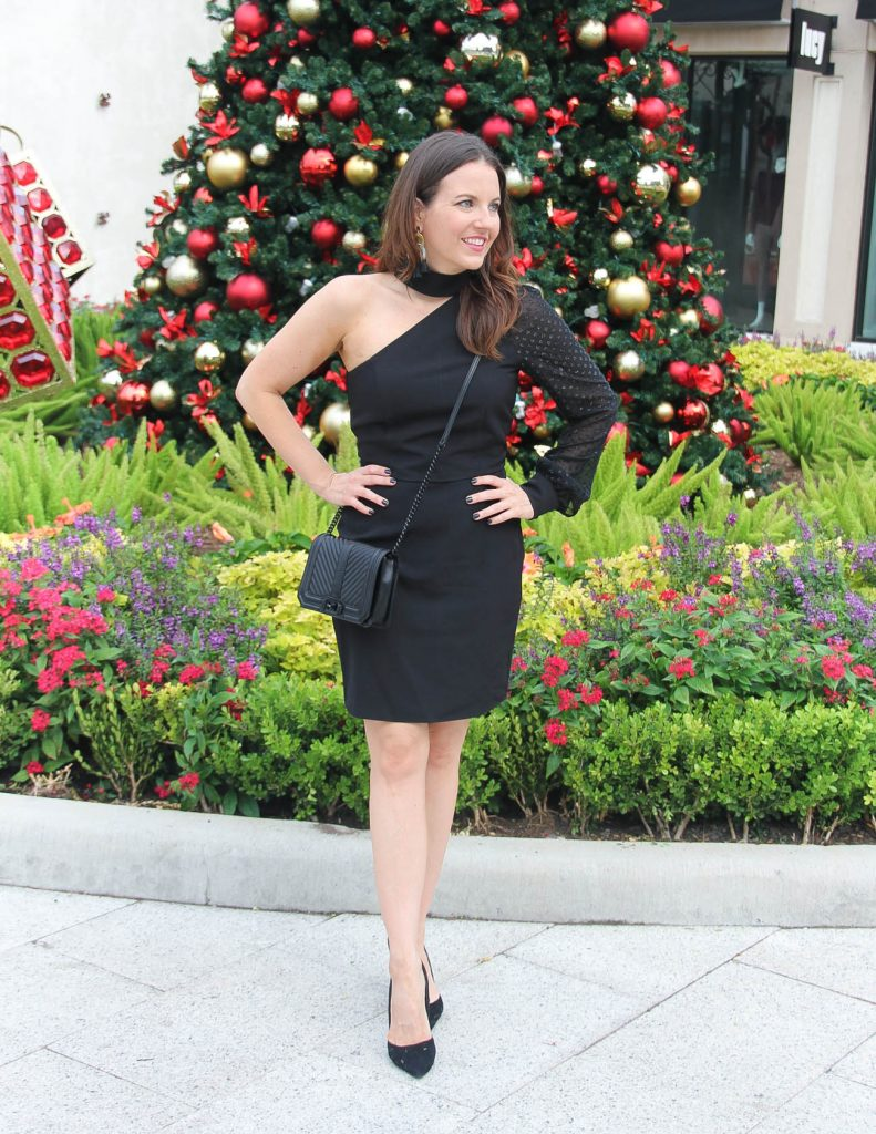 Little Black Dress for New Year's Eve Party | Houston Fashion Blogger Lady in Violet