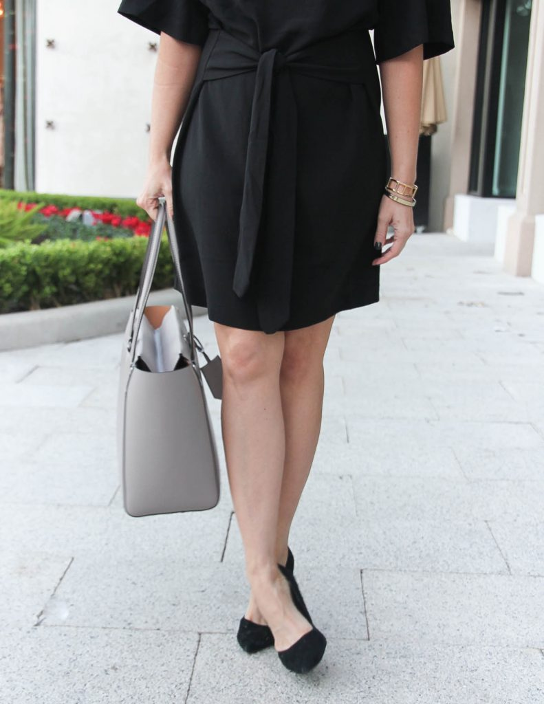 Workwear Outfit | Black Dress | Black Heels | Houston Fashion Blogger Lady in Violet