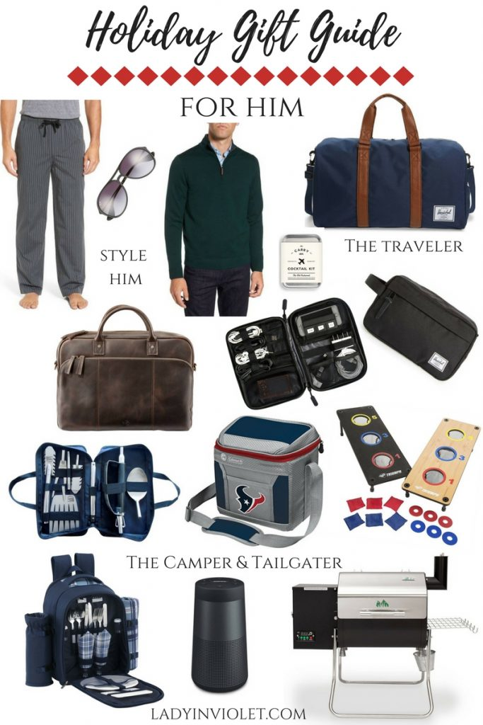 Gift Ideas for Men | Christmas Gifts for Him | Holiday Gift Guide for Him | Gift Ideas | Houston Fashion Blogger Lady in Violet