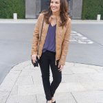 The Perfect Leather Jacket Color for Spring