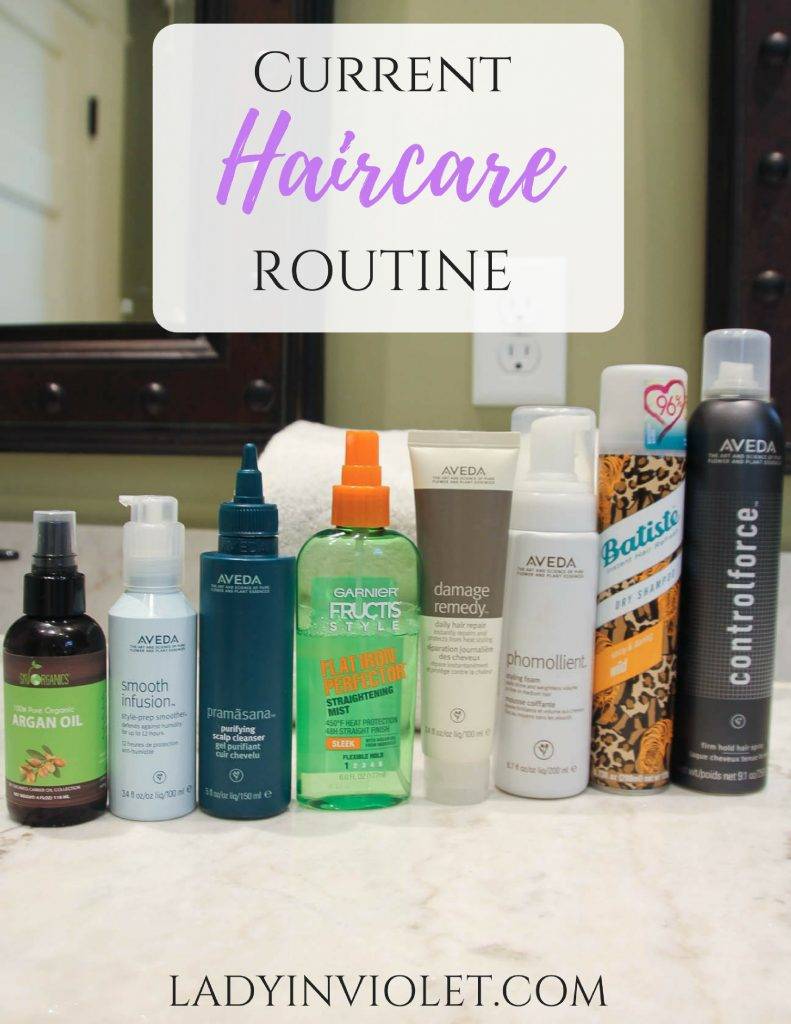 Current Haircare Routine | Hair Products Review | Houston Fashion Blogger Lady in Violet